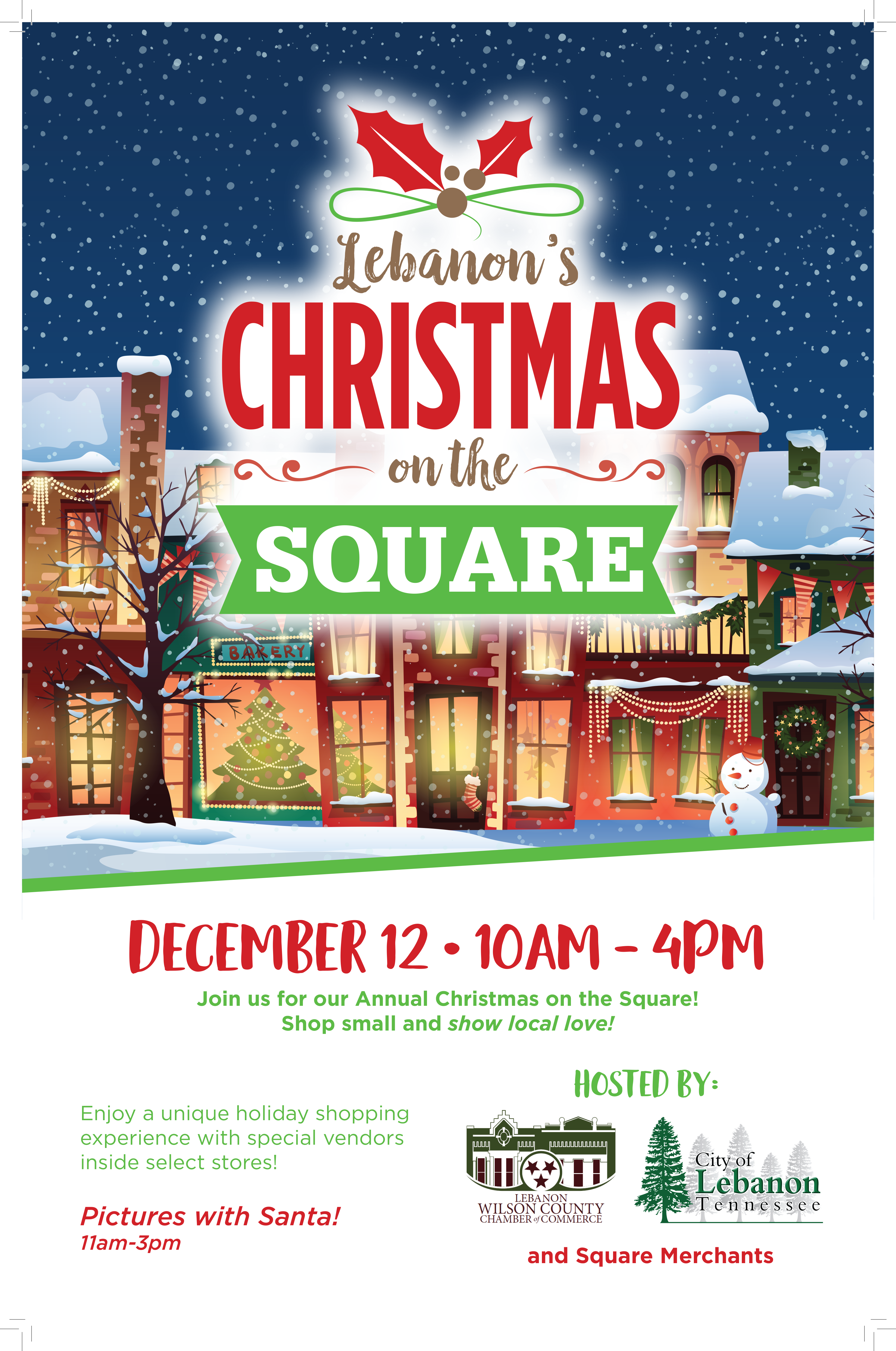 Christmas on the Square 2020 Poster