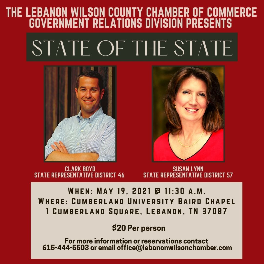 State of the State, Lunch & Learn