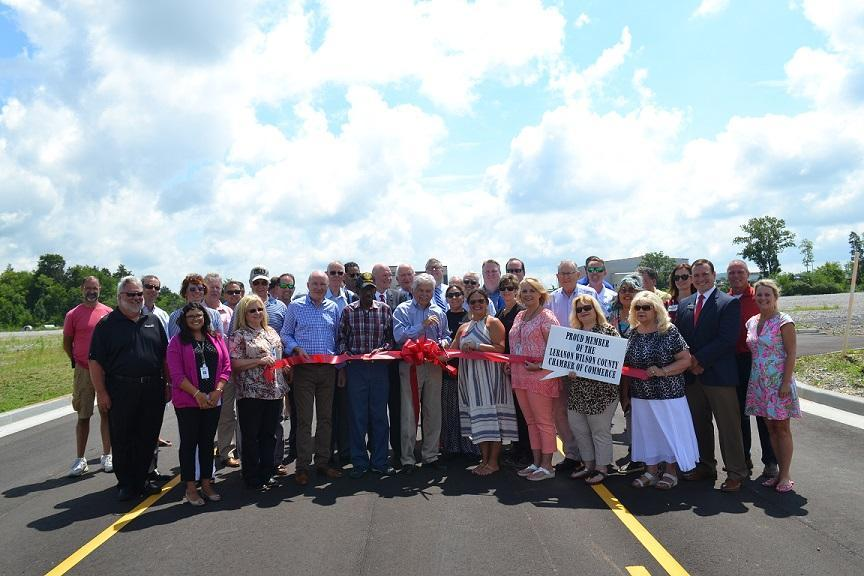 Aviation Way Ribbon Cutting Ceremony