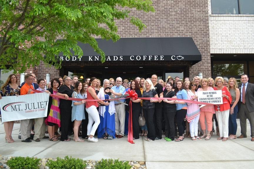 Body Kneads Ribbon Cutting Ceremony