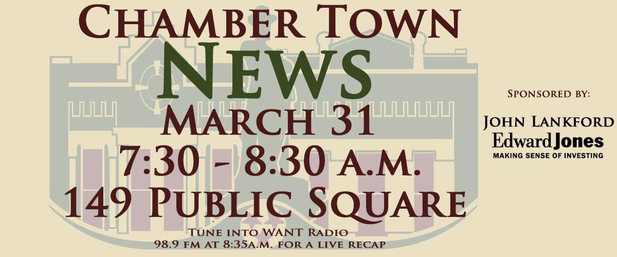 Chamber Town News Banner March