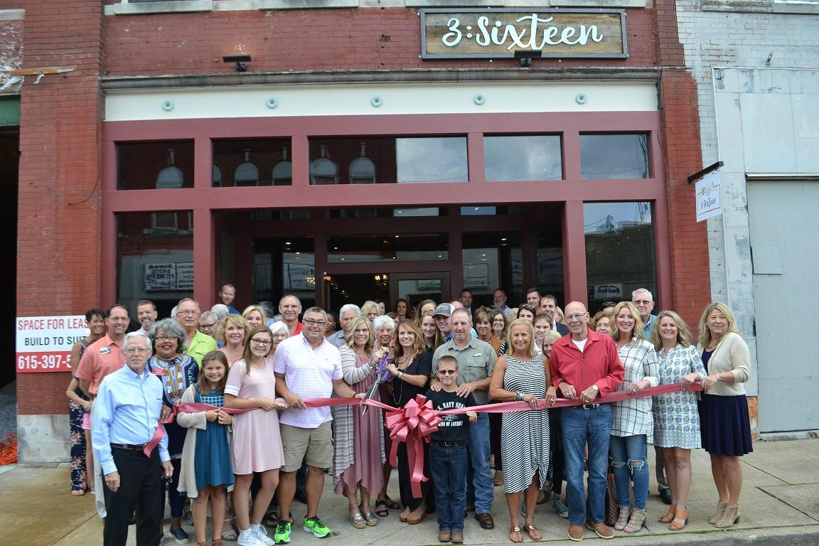 3:Sixteen Ribbon Cutting Ceremony