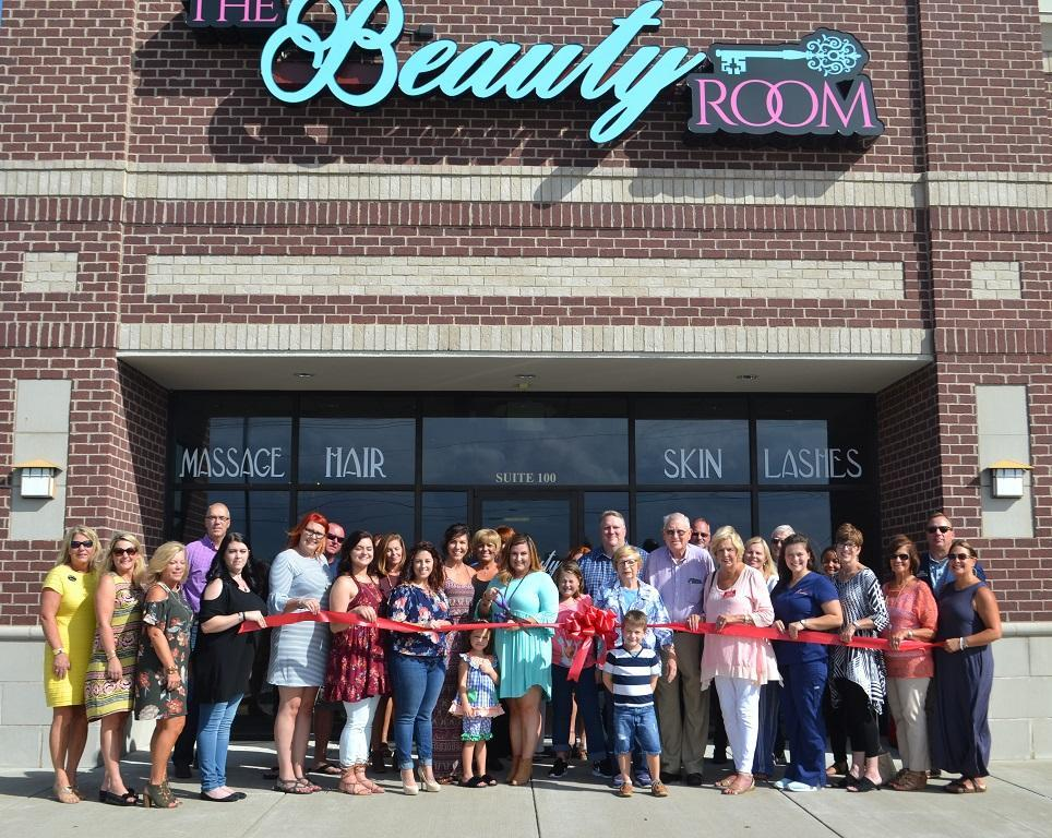The Beauty Room Ribbon Cutting Ceremony