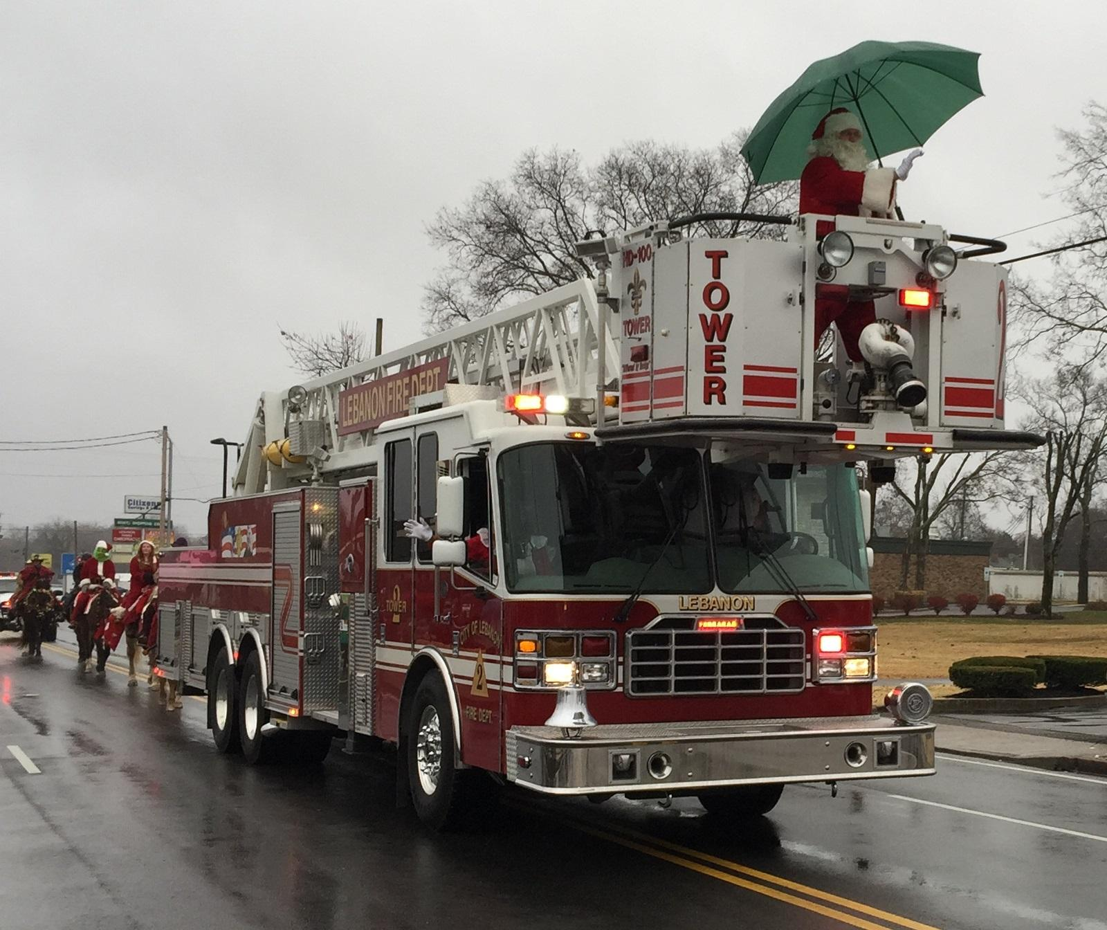 Lebanon Christmas Parade to Begin Holiday Season with a Great Amount of Cheer