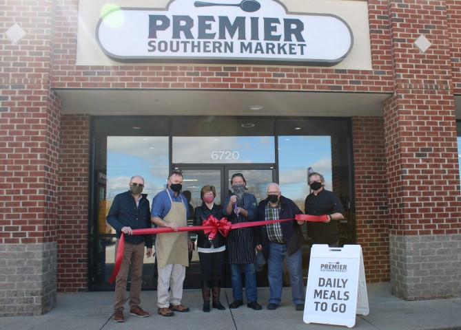 Premier Catering Ribbon Cutting Ceremony