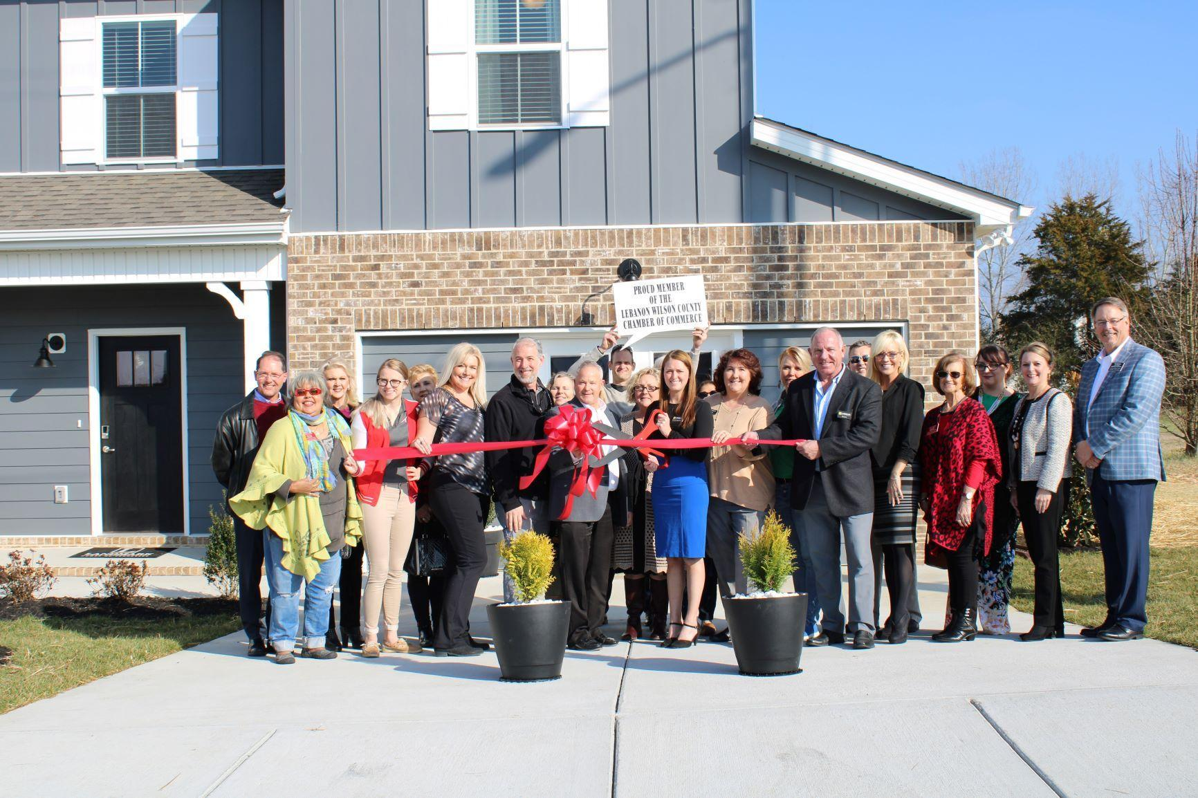 Landmark Homes Ribbon Cutting 53