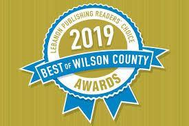 Lebanon Publishing Awards: Best of Wilson County