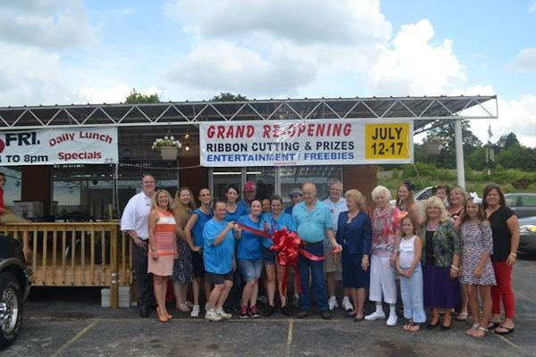 Grand Re-Opening Ceremony with City Limits Cafe