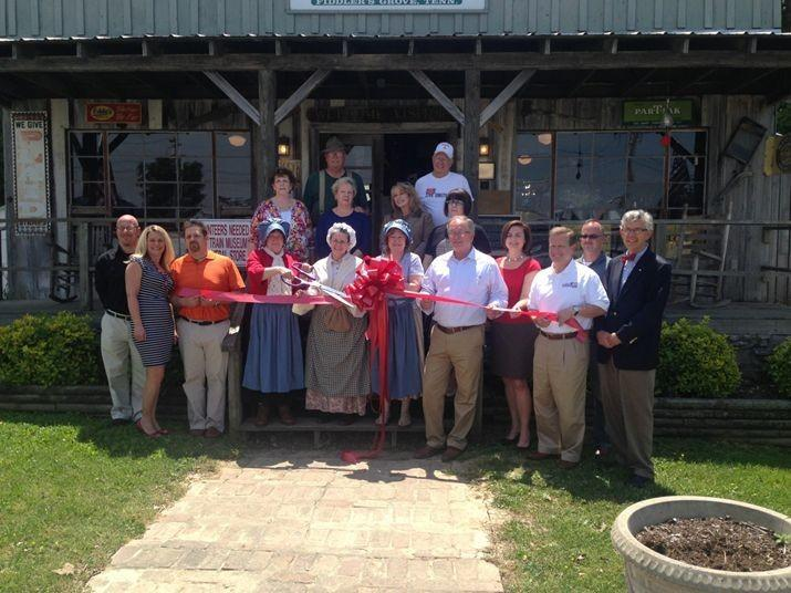 Fiddler's Grove Historic Village hosted a Ribbon Cutting/ Grand Opening Ceremony