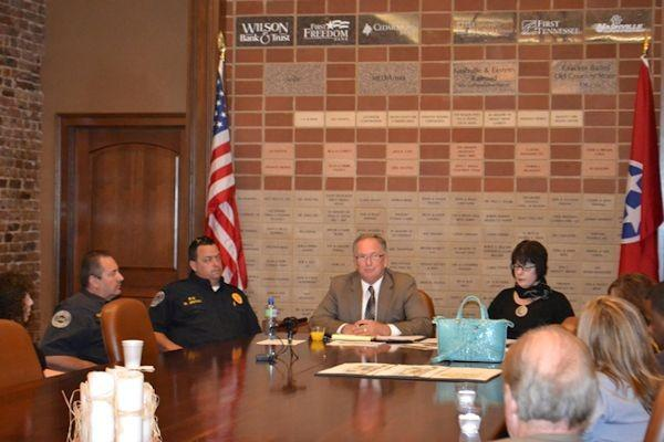 The first City Chat hosted by Lebanon Wilson County Chamber of Commerce