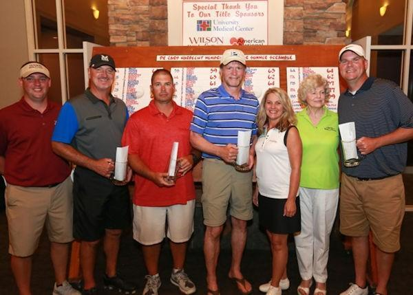 Annual Summer Scramble and Golden Heroes Golf Tournament Held