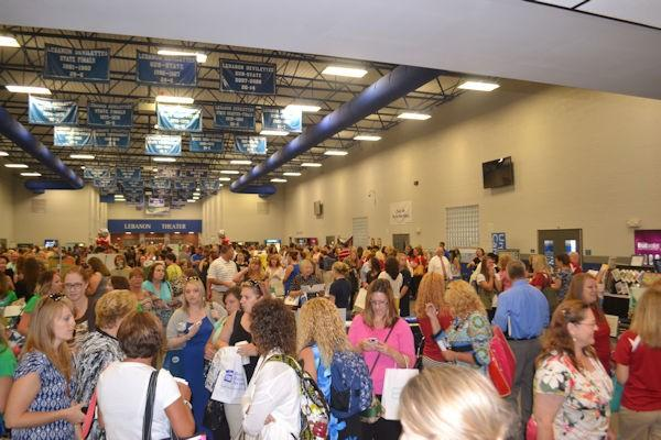 Lebanon Chamber Welcomes Teachers Back at Teacher Inservice Expo