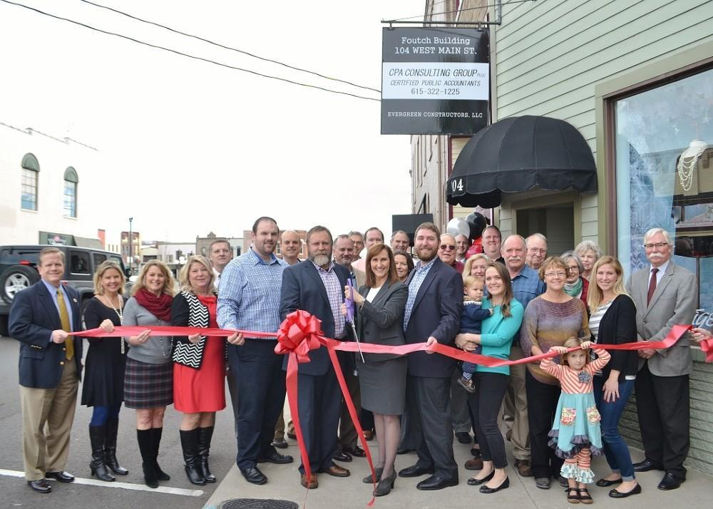 Ribbon Cutting - CPA Consulting Group