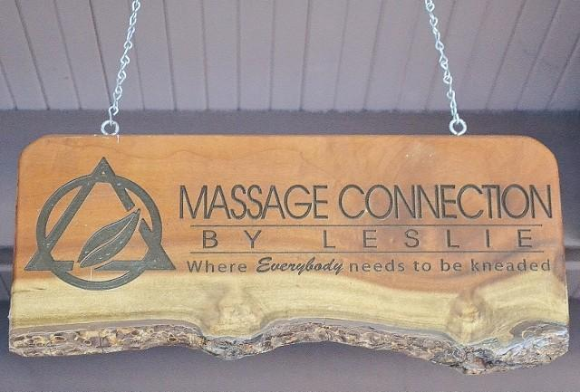 Massage Connection by Leslie/Doterra Oils Ribbon Cutting