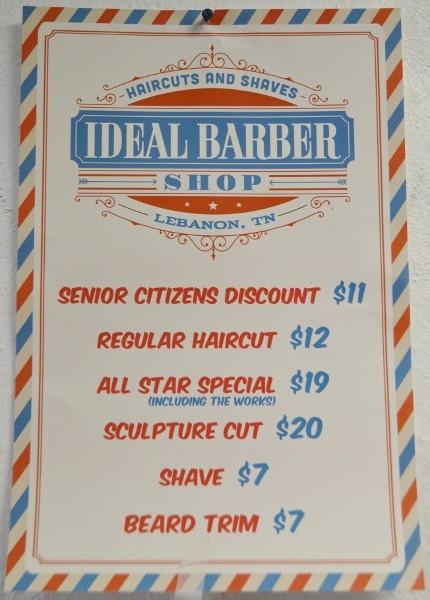 Ideal Barber Shop Ribbon Cutting