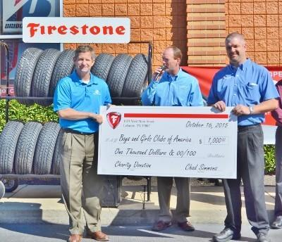 Firestone Complete Auto Care Grand Opening