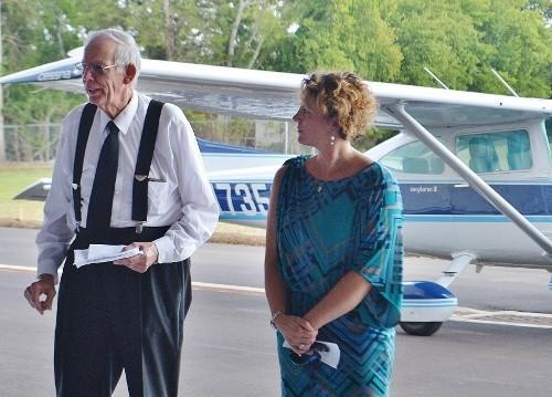 Lebanon Municipal Airport Ribbon Cutting