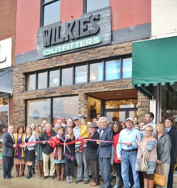 Wilkie's Outfitters Ribbon Cutting