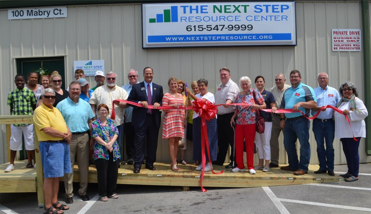 Next Step Resource Center Ribbon Cutting Ceremony