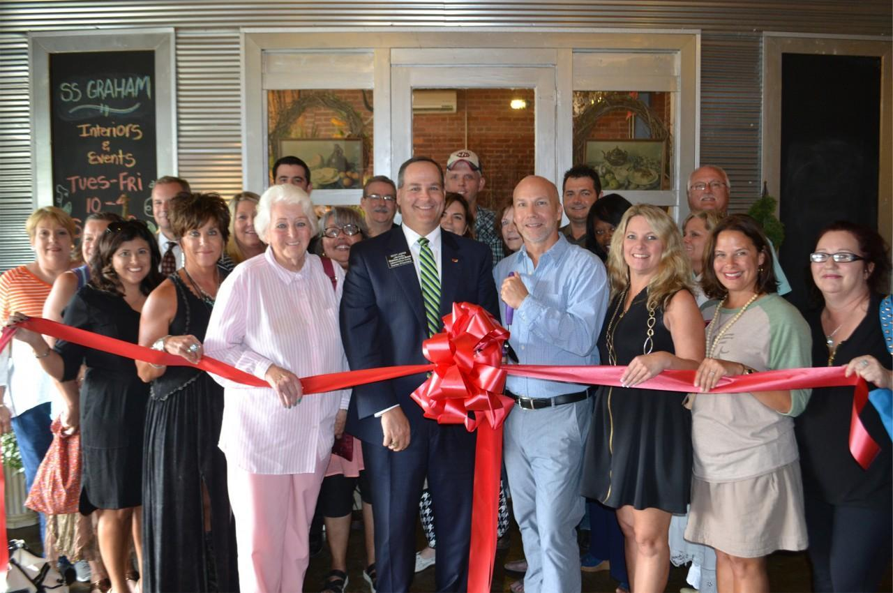 S. S. Graham Florals, Interiors and Events, Inc. Ribbon Cutting Ceremony
