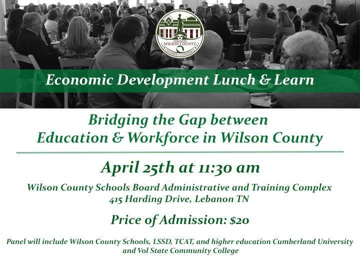 Economic Development Lunch and Learn at The Lebnaon Chamber