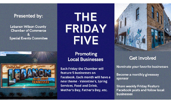 The Friday Five At Lebanon Chamber